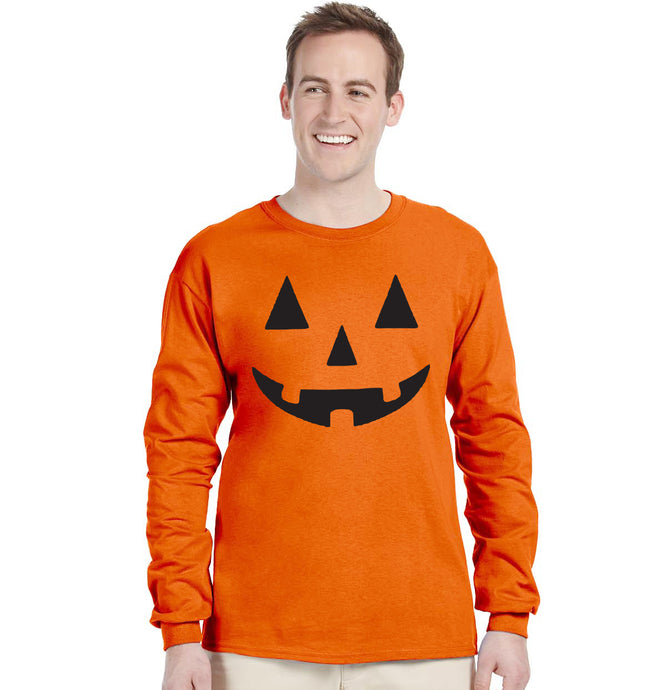 JACK O' LANTERN PUMPKIN Halloween Costume Long sleeve Shirt