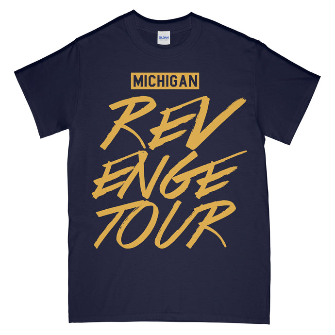 Michigan Revenge Tour T Shirt Navy