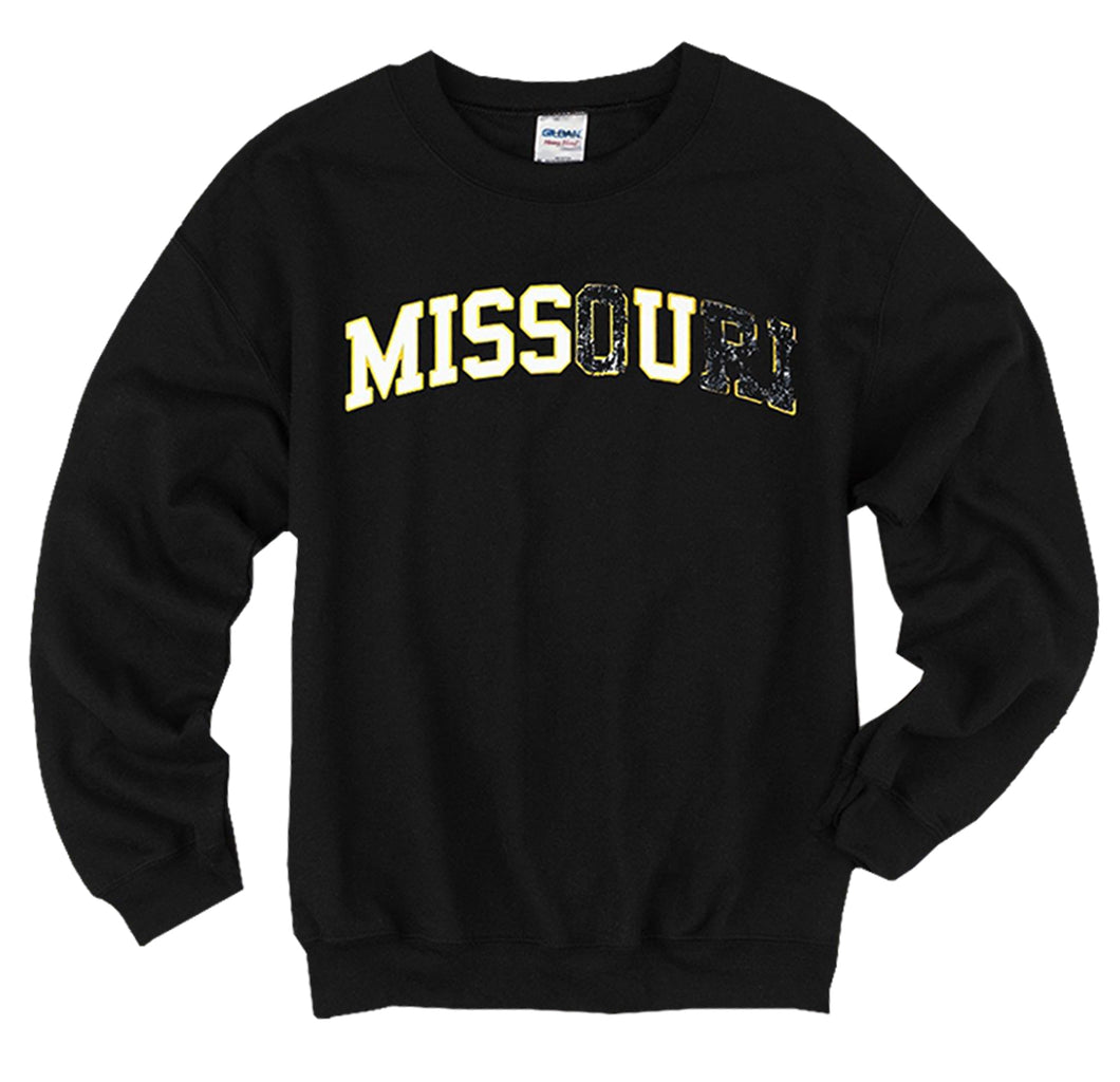 Drake Missouri Miss U Men's Black Sweatshirt