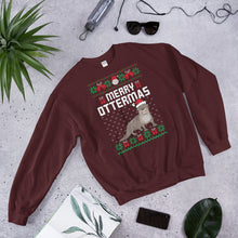 Merry Ottermas Ugly Sweater Party Unisex Sweatshirt