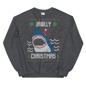Jawlly Christmas Christmas Ugly Sweater Design Unisex Sweatshirt