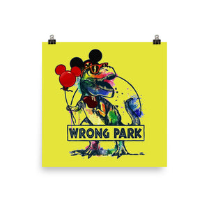 Wrong Park Poster