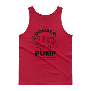 Donald Pump Make America Strong Again Tank Top
