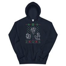 Pocket Monster For Christmas Ugly Sweater Design Unisex Hoodie