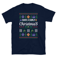 Have A Curly Christmas Ugly Sweater Party Short-Sleeve Unisex T-Shirt