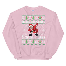 Santa Floss Ugly Sweater Party Unisex Sweatshirt