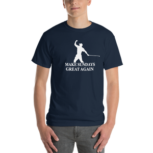 Make Sundays Great Again Tiger Woods Men's T shirt