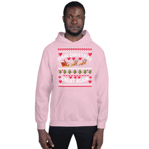 Make Christmas Great Again Ugly Sweater Party Unisex Hoodie