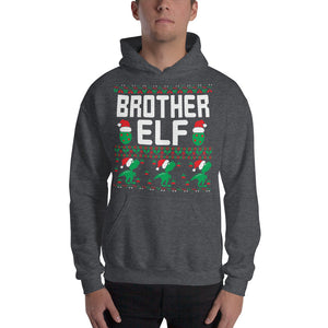 Brother Elf Christmas Ugly Sweater Party Unisex Hoodie