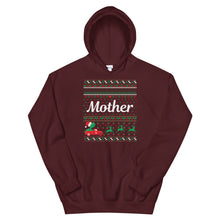 Mother Christmas Ugly Sweater Party Unisex Hoodie