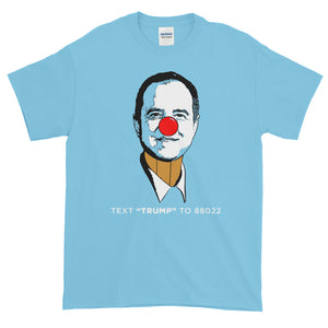 Adam Schiff pencil neck t shirt