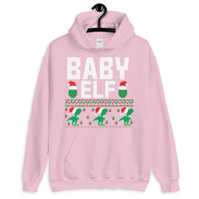 Baby Elf Christmas Ugly Sweater Party Unisex Hoodie