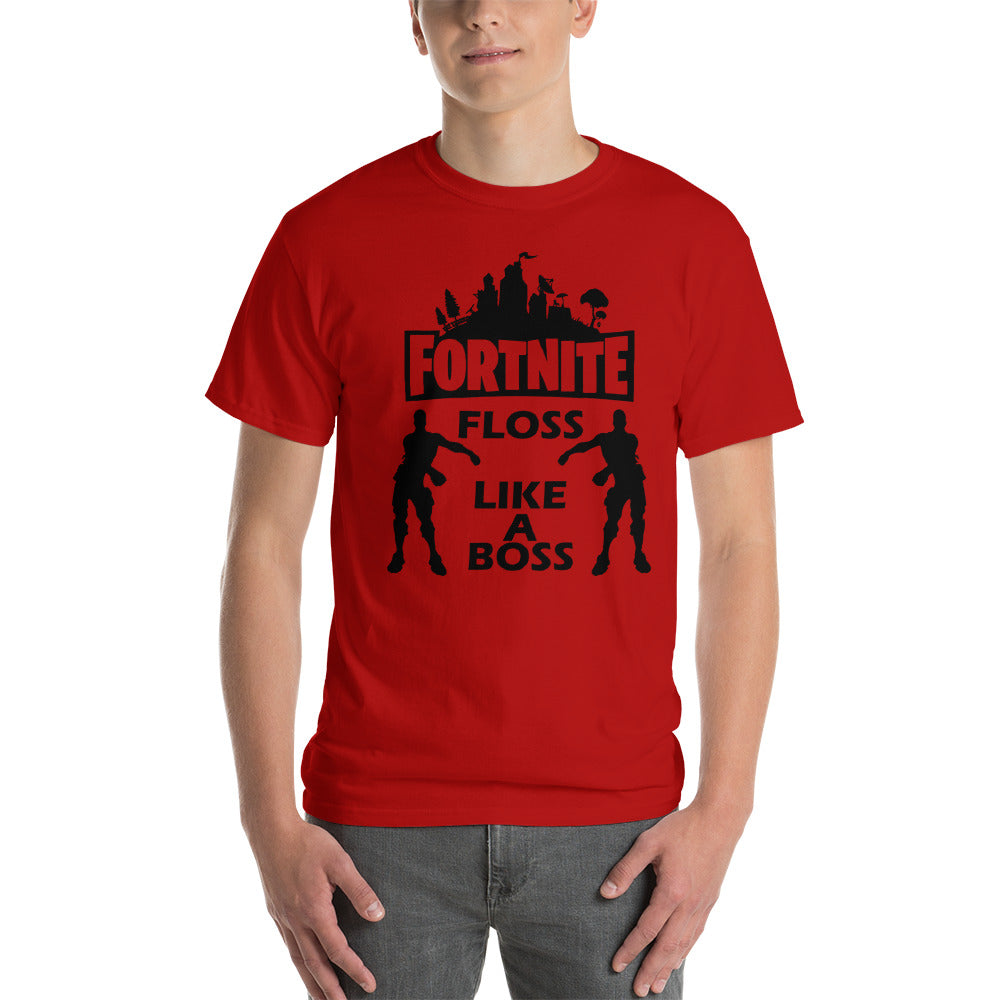 Fortnite Floss Like A Boss Adult Men S T Shirt