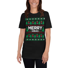 Merry Christmas Ugly Sweater Party Short-Sleeve Unisex T-Shirt