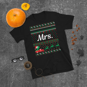Mrs. Christmas Ugly Sweater Party Short-Sleeve Unisex T-Shirt