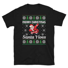 Santa Floss Ugly Sweater Party Short-Sleeve Unisex T-Shirt