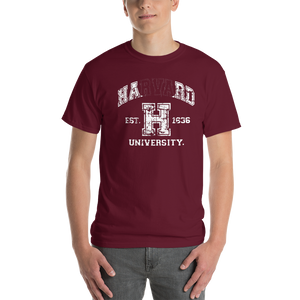 Havard University Hard Parody Funny T-Shirt