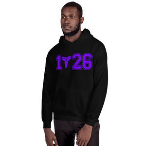 Mamba Out Kobe Bryant Purple Logo Black Hoodie