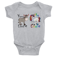 Your Uncle My Uncle Unicorn T-Shirt Infant Bodysuit