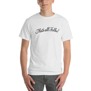 Anthony Davis that's all folks t shirt