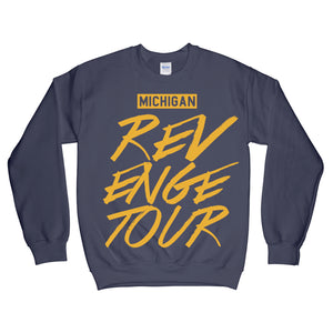 Michigan Revenge Tour Sweatshirt Navy