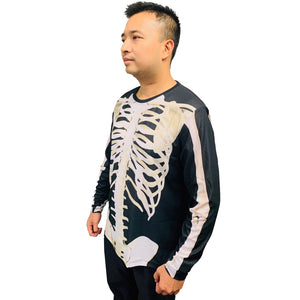 Skeleton halloween costume Long sleeve Men's Shirt