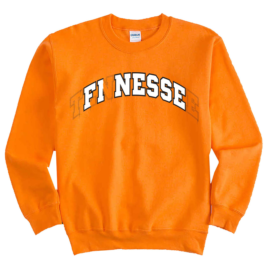 Tennessee Finesse Men's Orange Sweatshirt