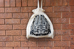 Drawstring Bag - Aviary