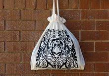 Drawstring Bag - Patterned Bird