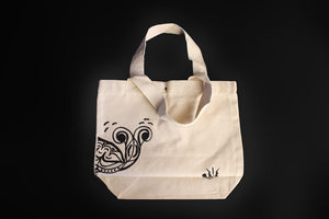 Canvas Carry Bag (small) - Whale