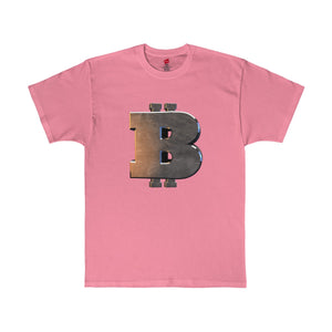 B COIN B COIN  *******Men's Tagless Tee - bitcointweaker