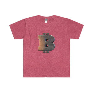 Bitcoin cryprocurrency Softstyle® Adult T-Shirt