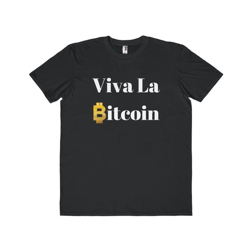 Viva La Bitcoin Men's Lightweight Fashion T-Shirt - bitcointweaker