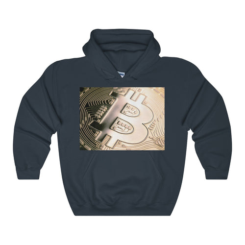 Bitcoin Badass Unisex Heavy Blend Hooded Sweatshirt - bitcointweaker