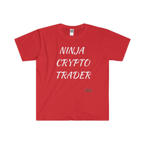 NINJA CRYPTO TRADER Softstyle® Adult T-Shirt