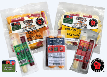 CHEESE & SAUSAGE SNACKS