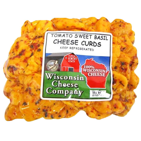 12oz. Tomato Sweet Basil Cheese Curds Packs 12ct