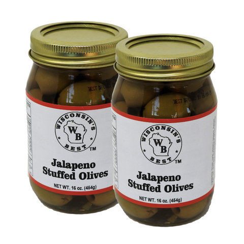 Gourmet Stuffed Olives 32oz. (2-16oz. Jars)