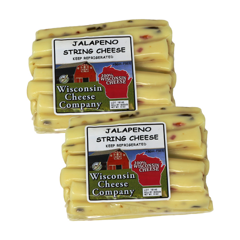 Jalapeno String Cheese Blocks(2 Pack)