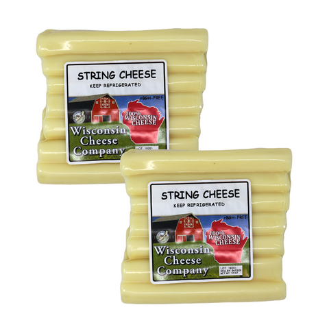 String Cheese Blocks (2 Pack)
