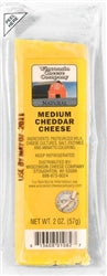 2oz. Medium Cheddar Cheese Snack Sticks 96ct