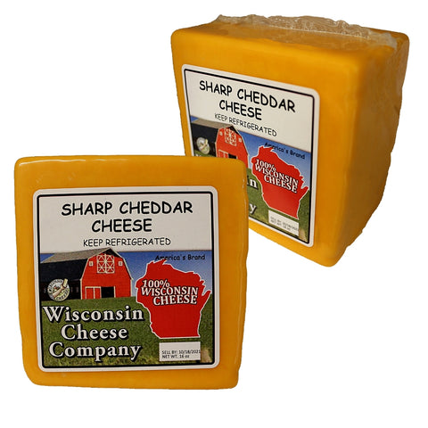 Sharp Cheddar Cheese Blocks (2 Pack)