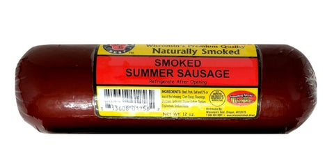 "Summer Sausage ""Original"" Hickory Smoked 12oz."
