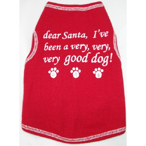 Dear Santa Singlet | Dogs and the City