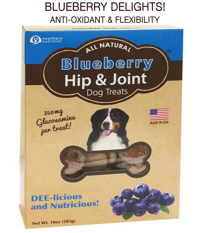 BOGO! BUY 1 CASE OF 2, GET SECOND CASE OF 2 -FREE! Delicious, Blueberry Antioxidant Hip & Joint