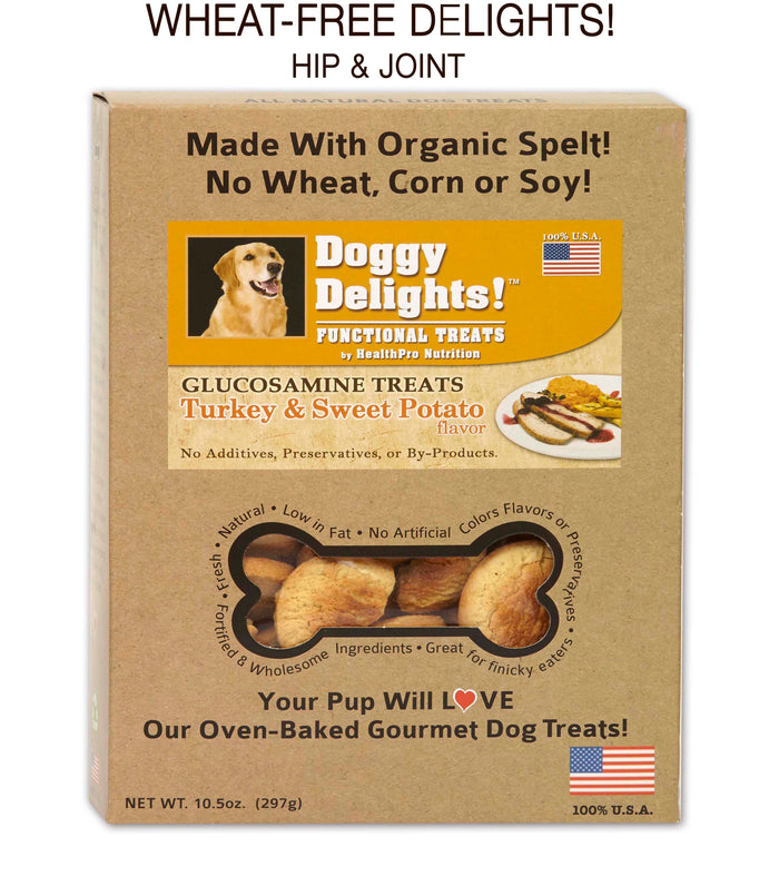 BOGO! BUY 1 case of 2, GET second case of 2 -FREE! Doggy Delights® Wheat FREE!