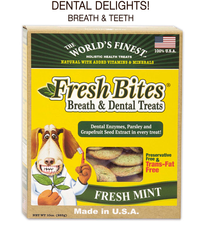 BOGO!  BUY 1 case of 2, GET second case of 2 -FREE! Fresh Bites®, Dental Treats!