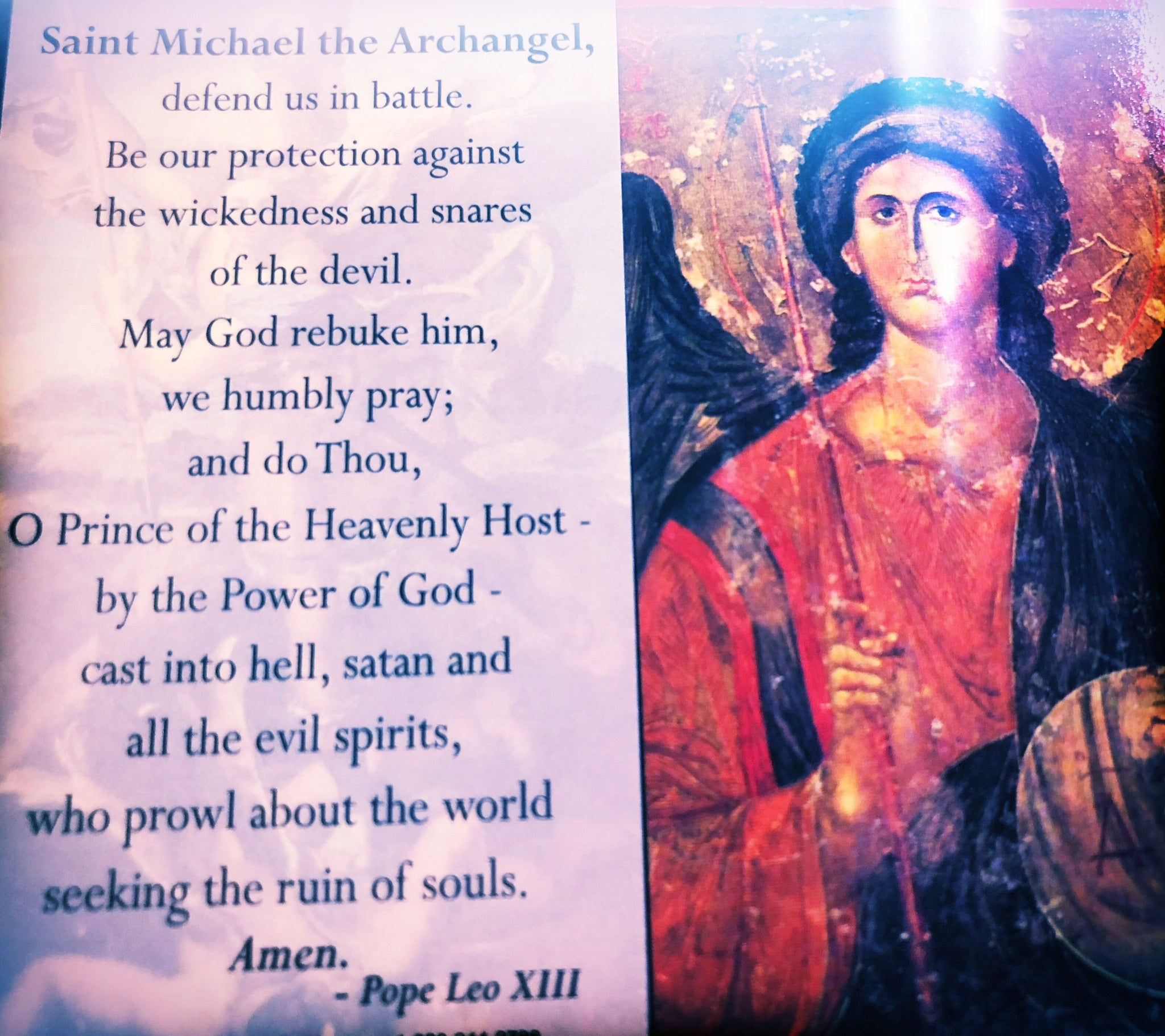 Archangel Michael Revocation Uncrossing & Protection Blessed