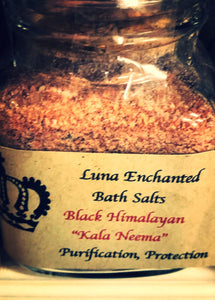 "Black Himalayan ""Kala Neema"" Bath Salts"