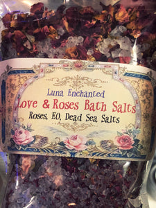 Love & Roses Bath Salts